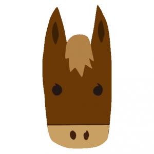 馬(うま)」のイラスト ...