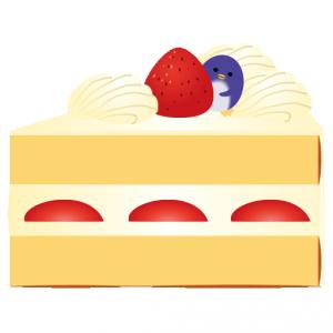 ぺんぎん_ショートケーキ