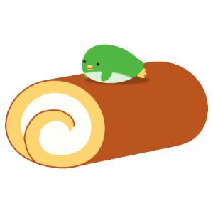 ぺんぎん_ロールケーキ