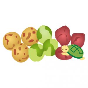 かめ_豆菓子