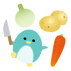 ぺんぎん_野菜