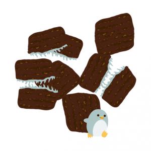 ぺんぎん_ミントチョコレート