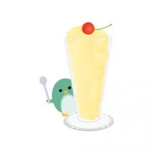 ぺんぎん_ミルクセーキ
