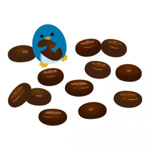 ぺんぎん_コーヒー豆チョコレート